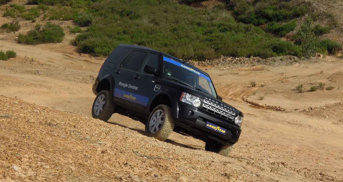 Essai pneumatique Goodyear Efficient Grip SUV : l'efficience tout terrain