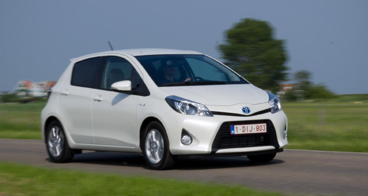 Essai Toyota Yaris Hybride