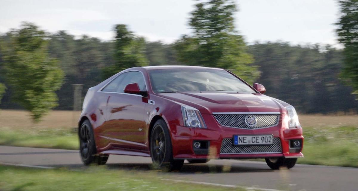 Essai : Cadillac CTS-V Coupé
