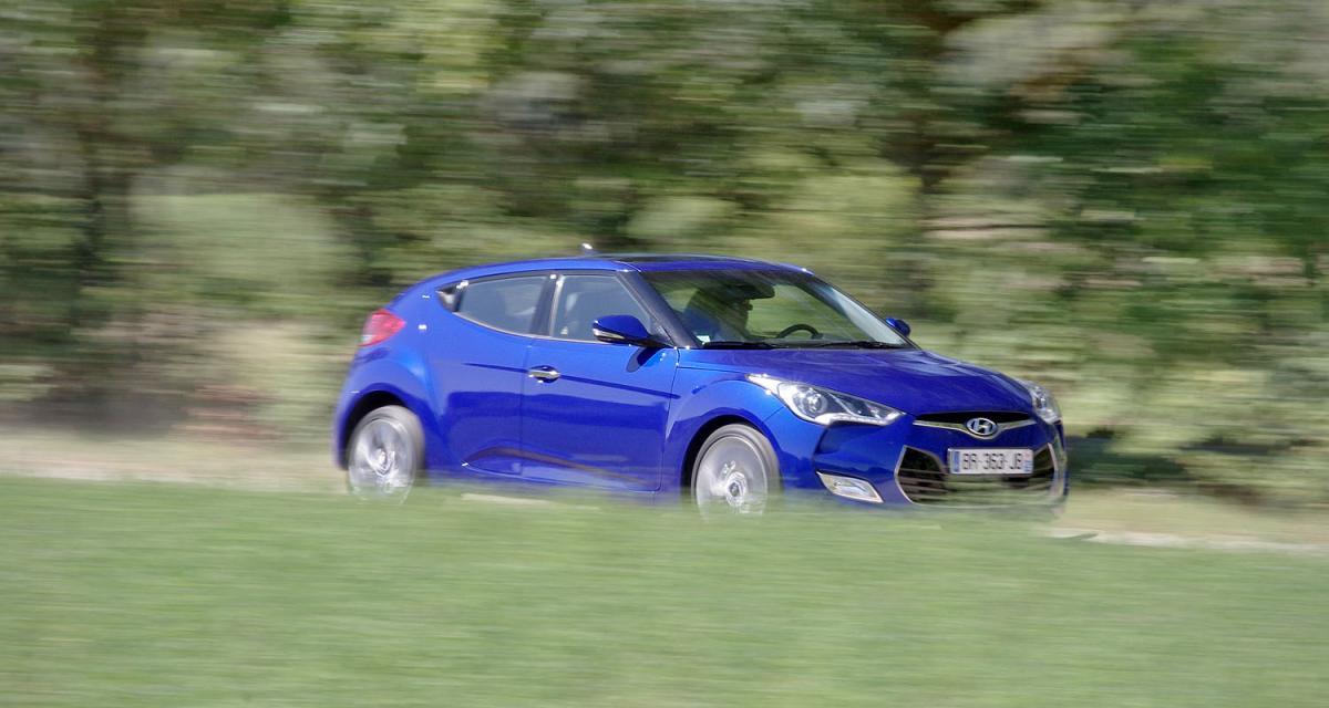 Essai : Hyundai Veloster 1.6 GDI 140