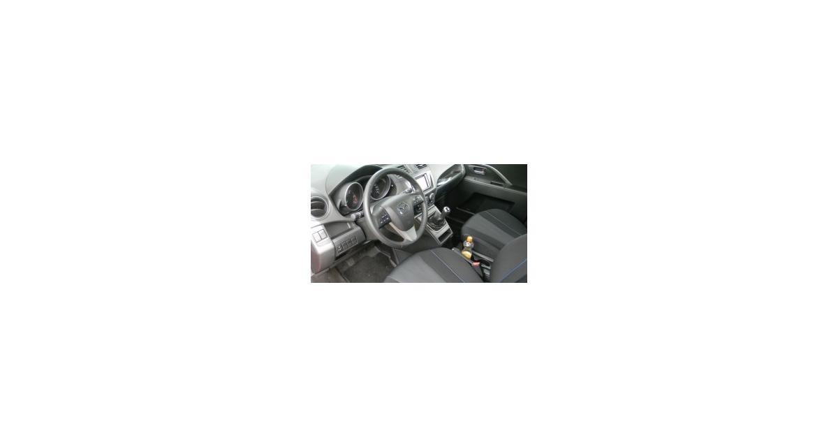 Essai : Mazda 5 1.6 MZ-CD 115