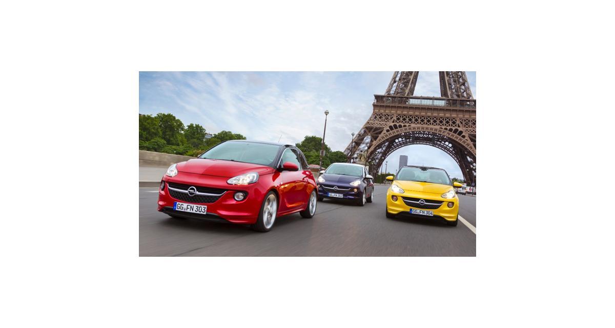 Opel : un nouveau 3 cylindres turbo pour l'Adam