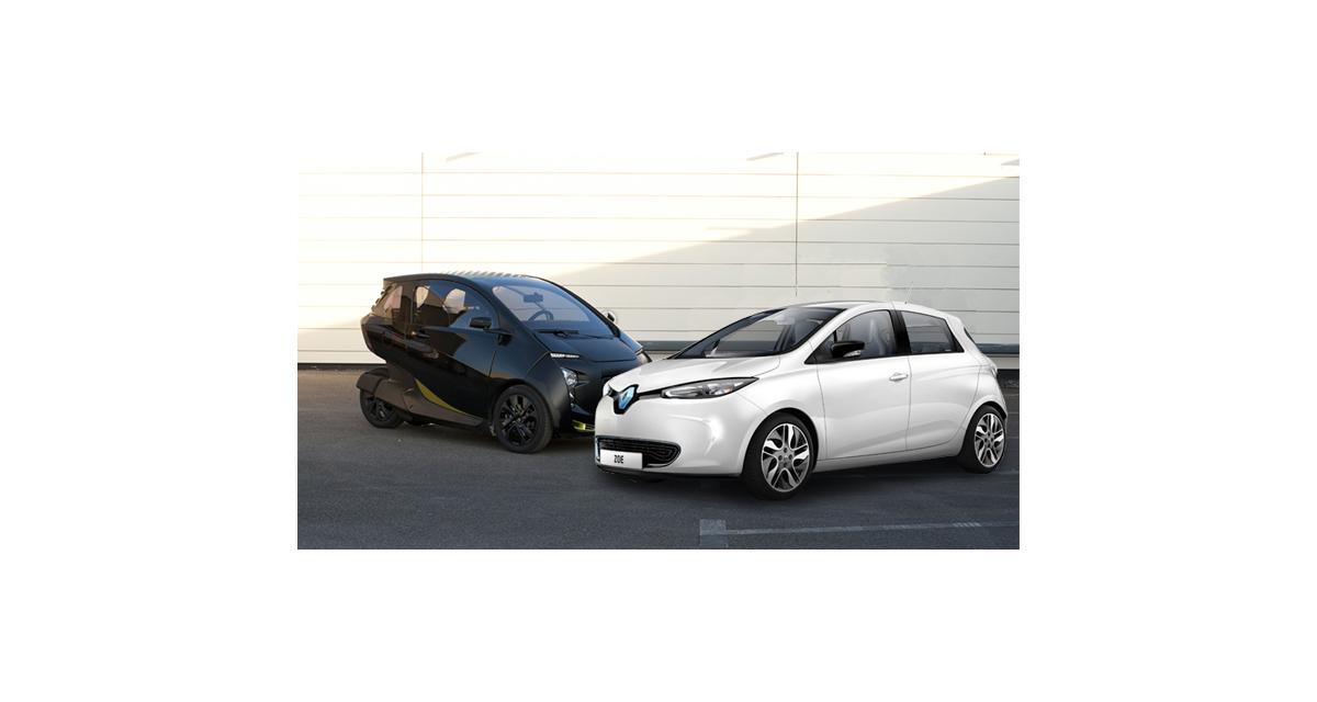 L'Hybrid Air de PSA contre l'électrique de Renault