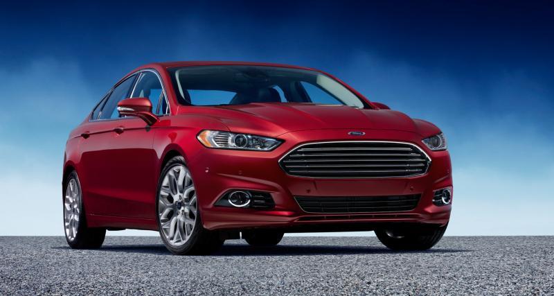 Ford Mondeo : les ceintures arrière intègreront un airbag