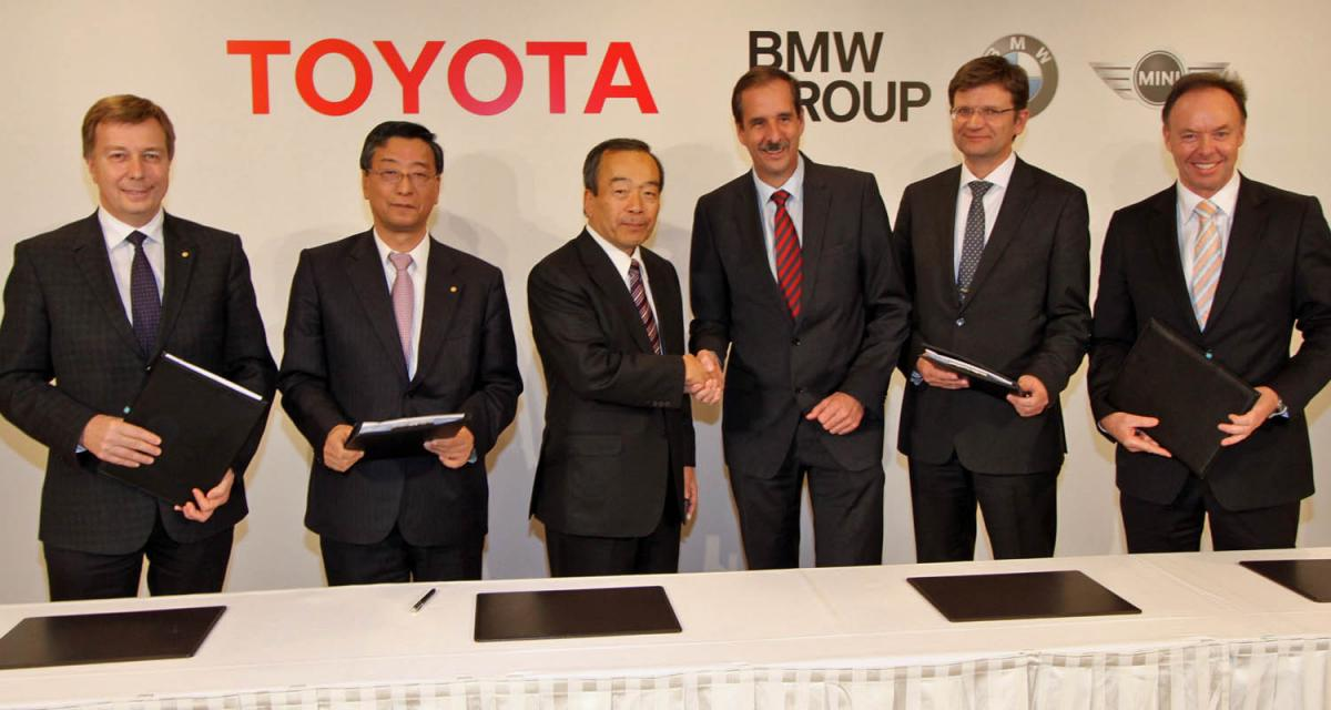 Toyota et BMW main dans la main pour les technologies écologiques