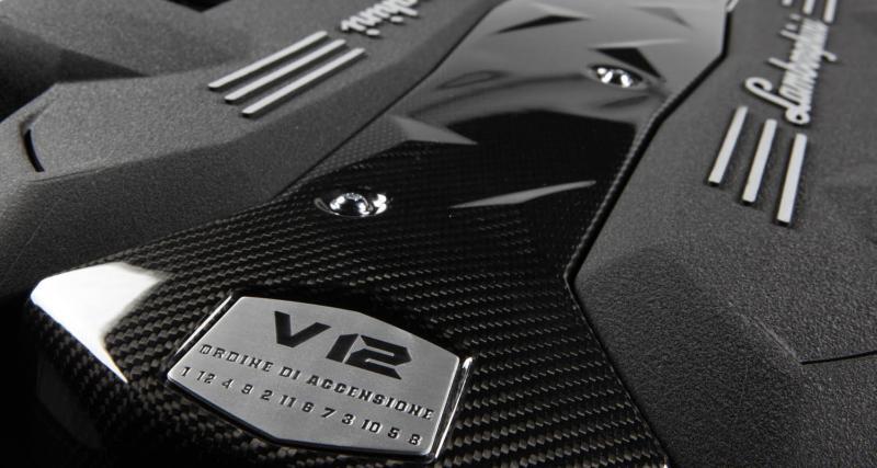 Lamborghini : 700 ch pour le nouveau V12