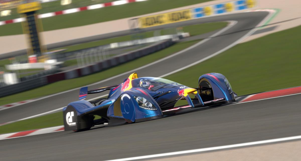 Red Bull : un prototype dans Gran Turismo 5