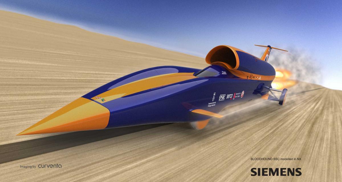 Bloodhound SSC : bolide supersonique