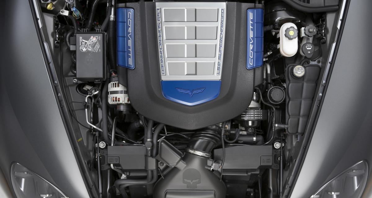 Corvette : un V8 à assembler soi-même