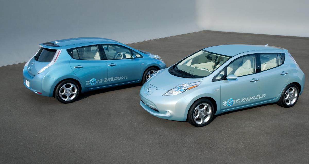 Nissan Leaf : le bruit sans les odeurs