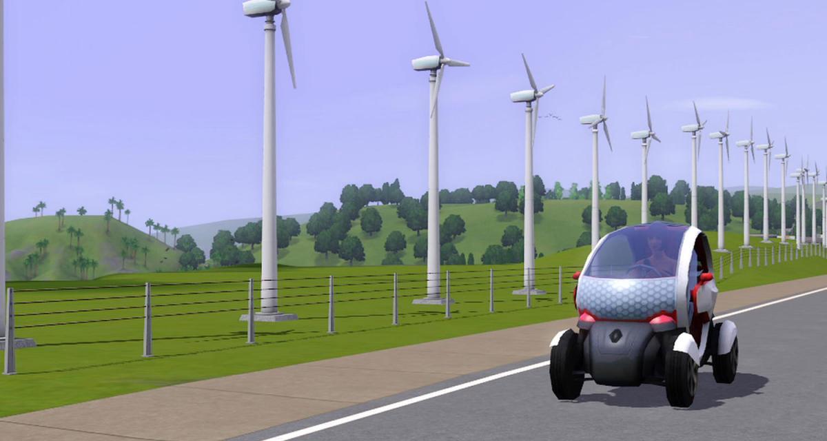 La Renault Twizy chez les Sims