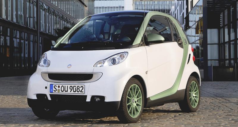 Smart Fortwo Electric Drive : petite voltée