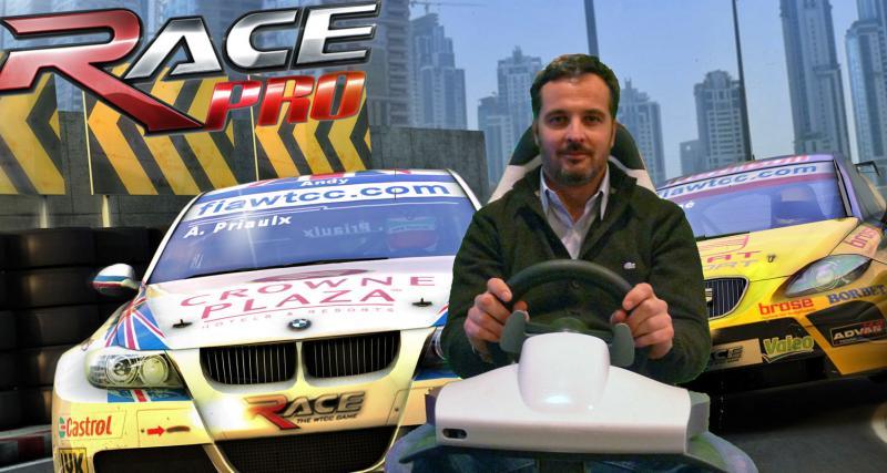 Race Pro : dans la peau d'Yvan Muller