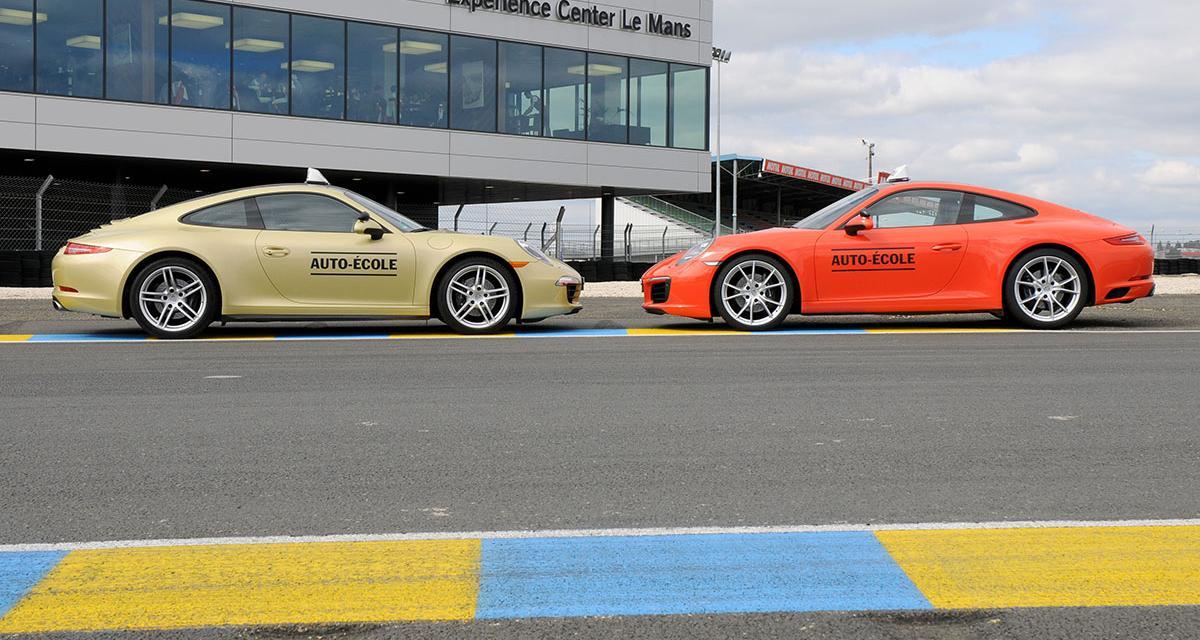 On a passé le permis Porsche au Mans