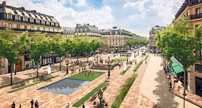 Paris : la place de l'Opéra bientôt piétonne ?