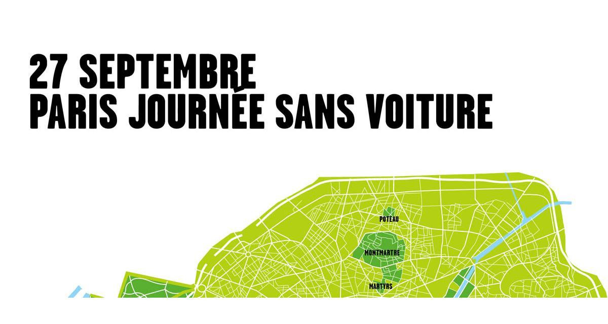 Journée sans voiture : comment circuler à Paris dimanche