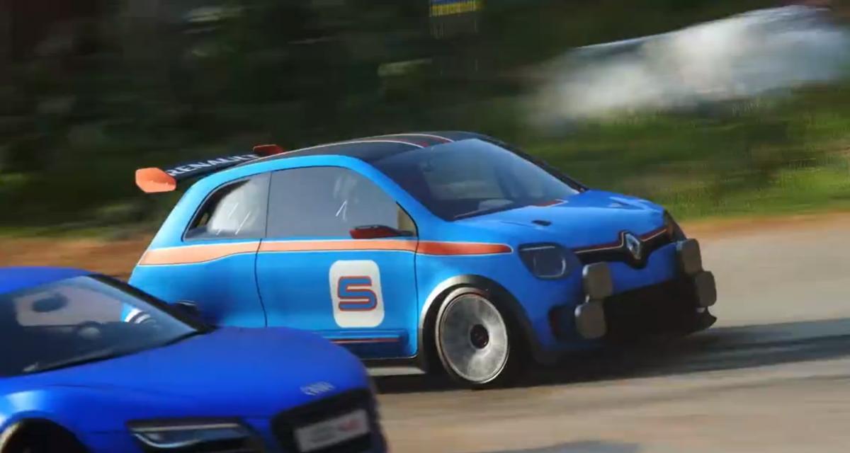 La Renault Twin'Run débarque dans le jeu Driveclub