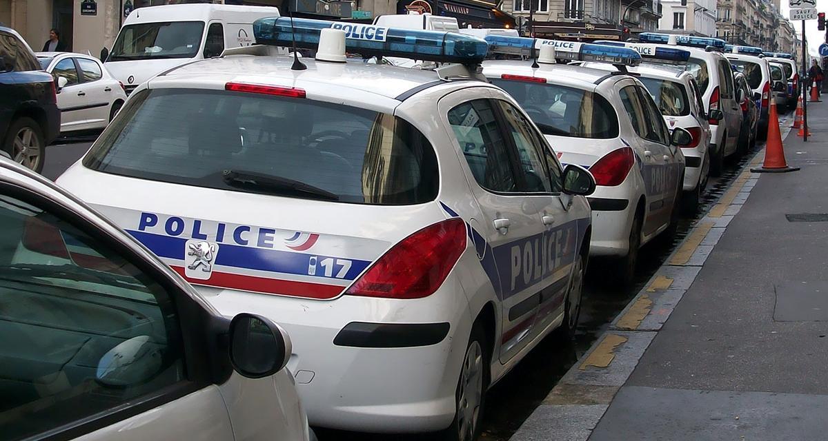 Les voitures de police trop vieilles et usées