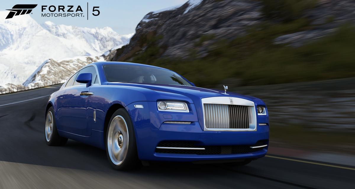 Forza Motorsport 5 : la Formula E et Rolls-Royce débarquent
