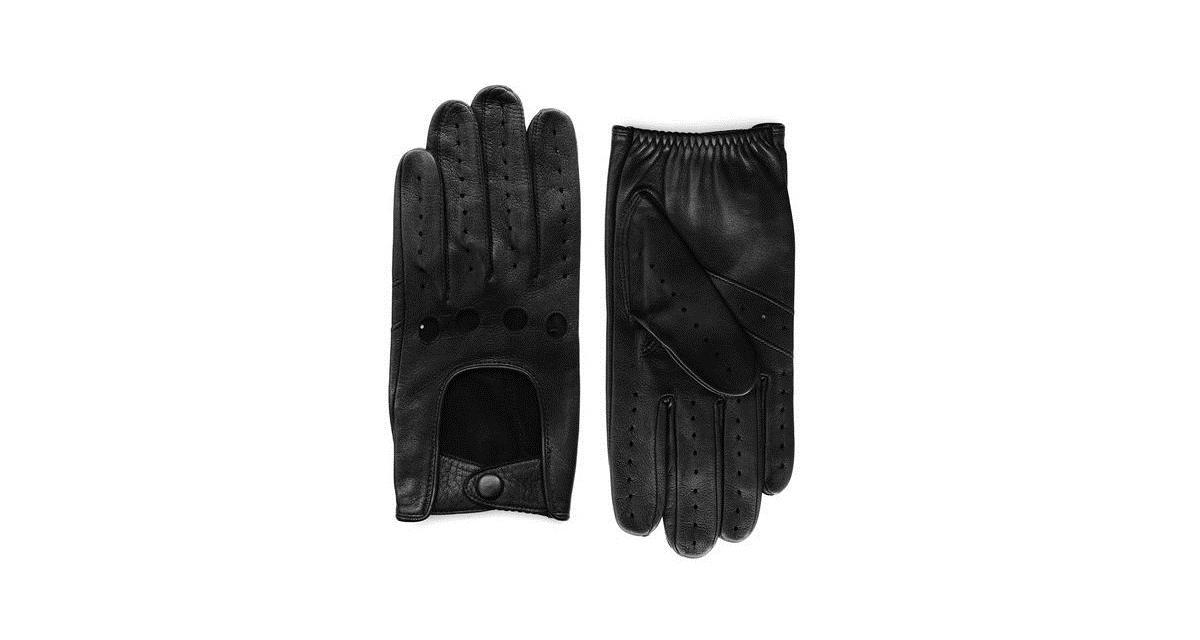 L'accessoire de la semaine : gants de conduite Agnelle