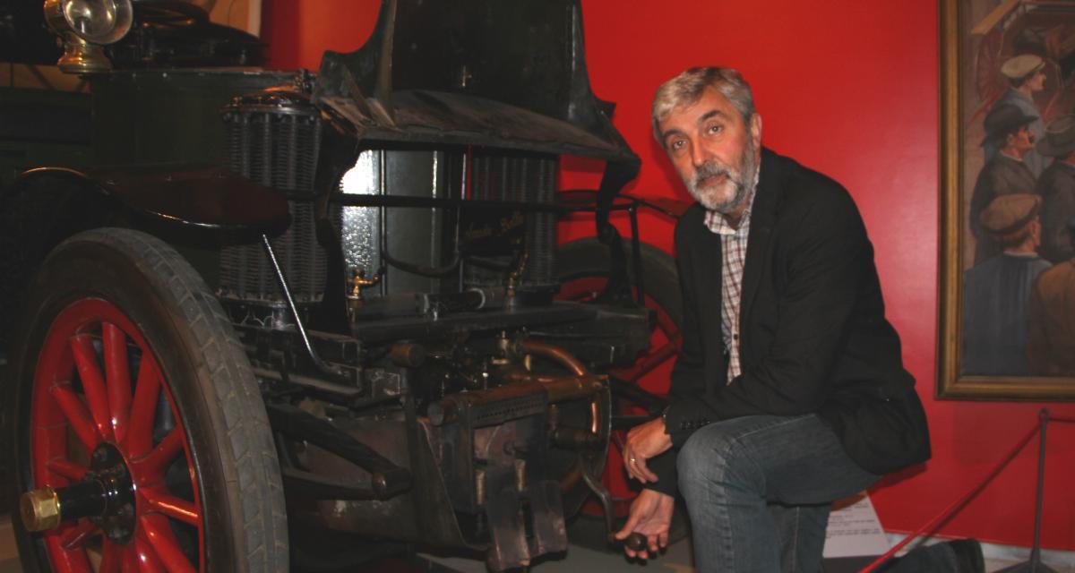 Portrait de la semaine : Francis Piquera, responsable des collections du musée des 24 Heures