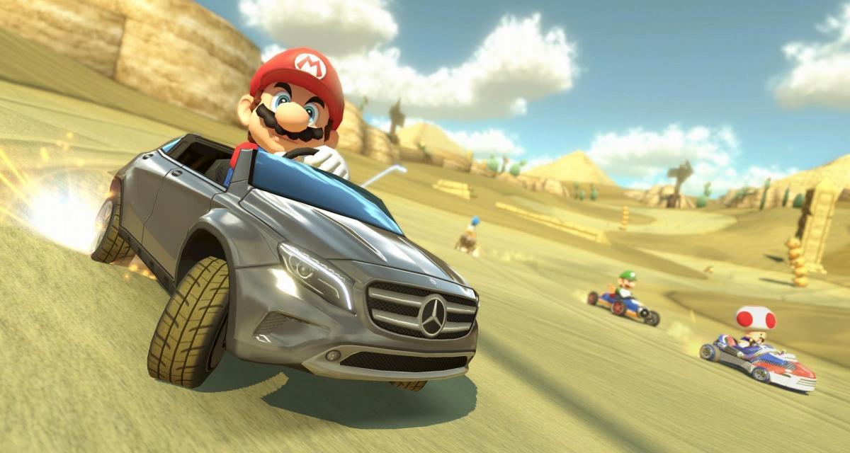 L'accessoire de la semaine : Mario Kart 8
