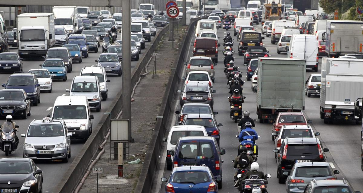 Les Franciliens, pires conducteurs de l'Hexagone