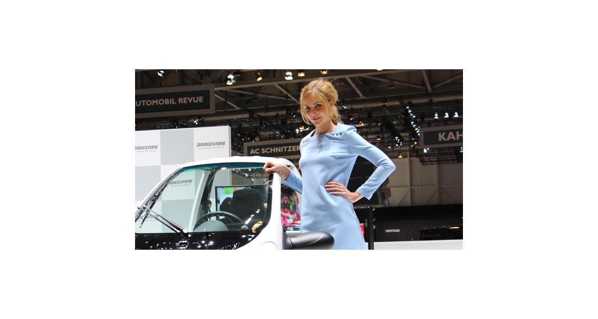 Salon de Genève 2014 : les hôtesses en direct, toutes les photos