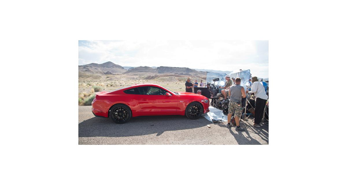 La nouvelle Ford Mustang, vedette du film Need for Speed