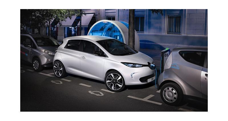 Renault offre un abonnement Autolib' aux propriétaires de voitures électriques
