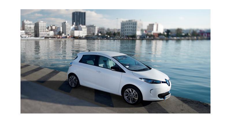 """Renault lance une offre """"petits rouleurs"""" sur la Zoé"""