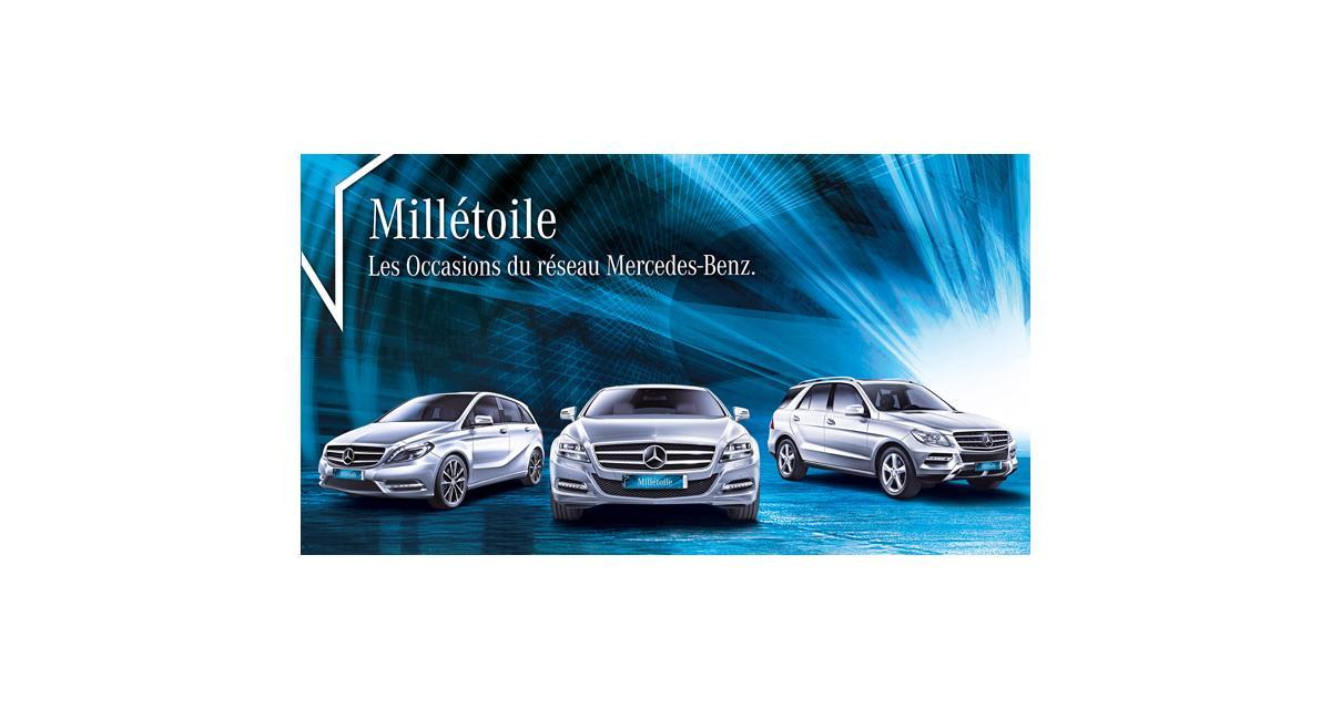 Mercedes : nouveau label occasion Millétoile