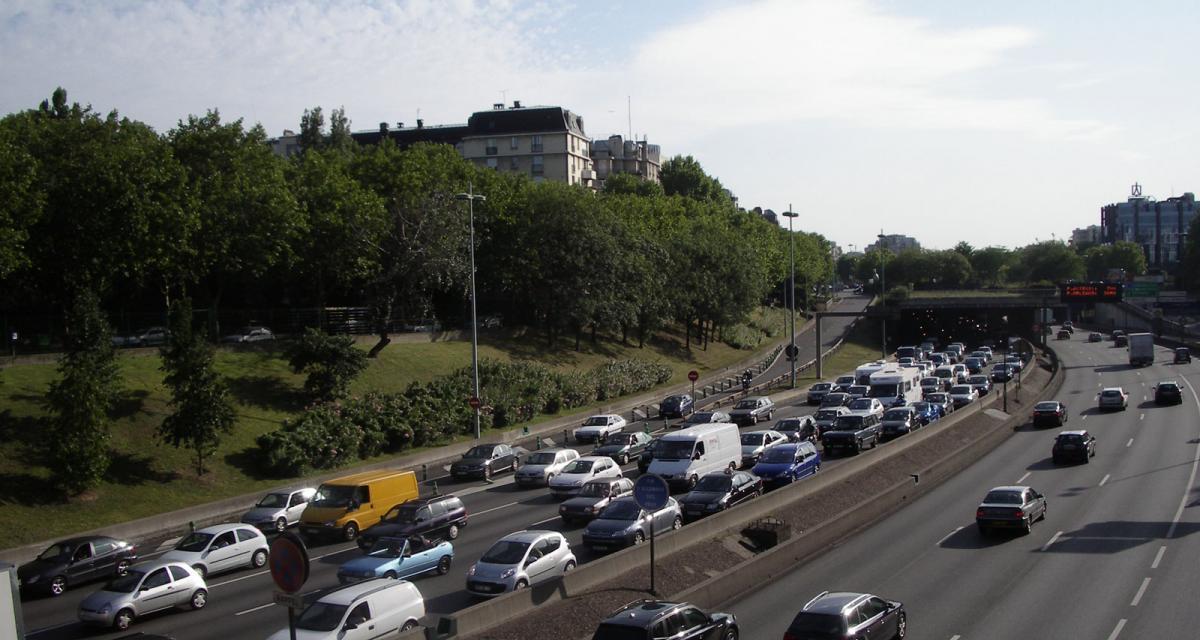 Paris : le périphérique bientôt limité à 70 km/h