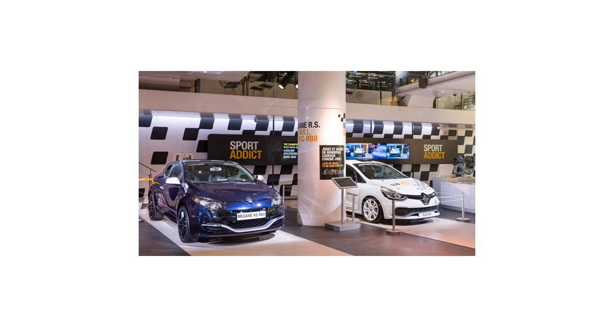 Atelier Renault : le sport à l'honneur