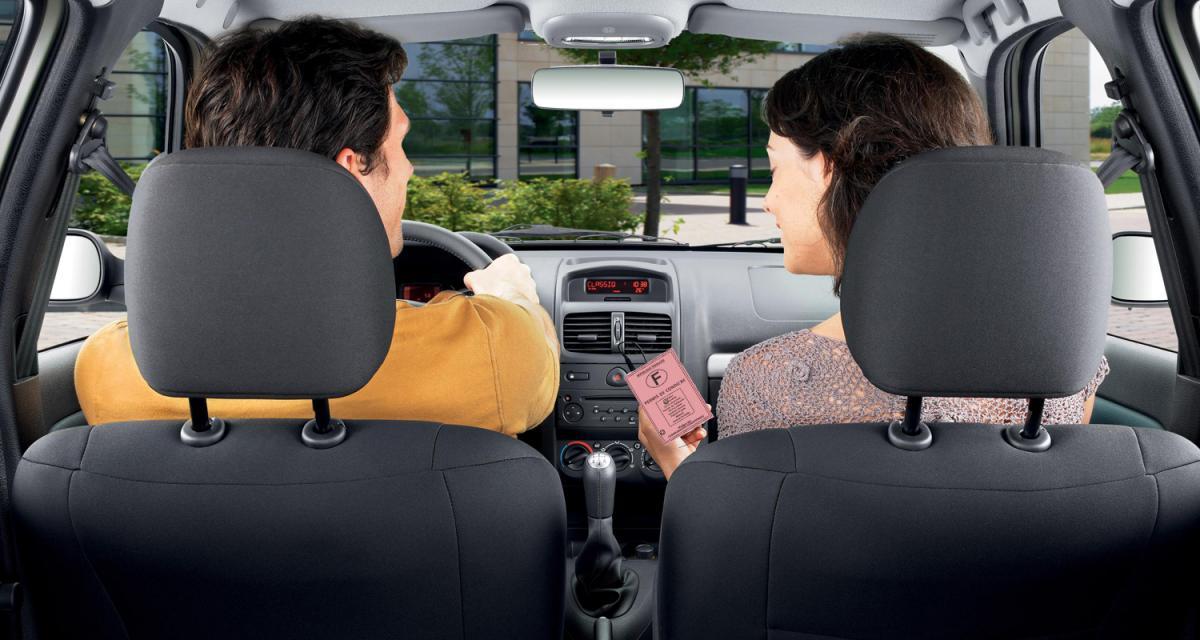 La conduite accompagnée 33 % moins chère
