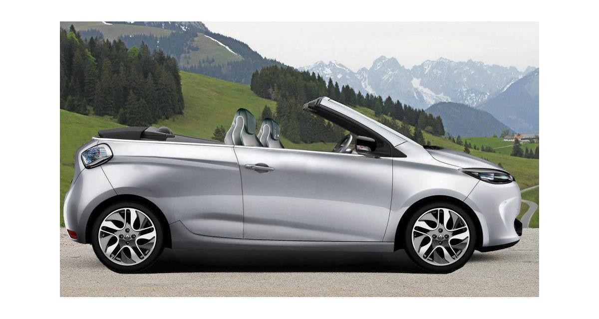 Renault ZOE : la version cabriolet sur Facebook