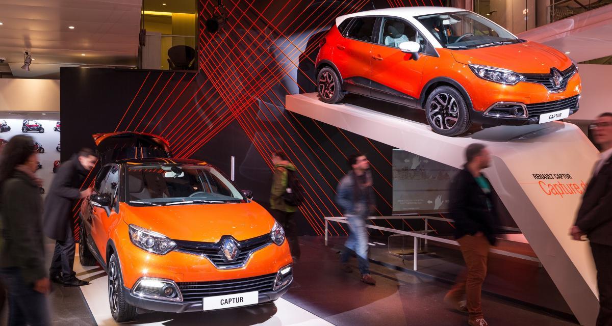 Renault expose le Captur dans son Atelier