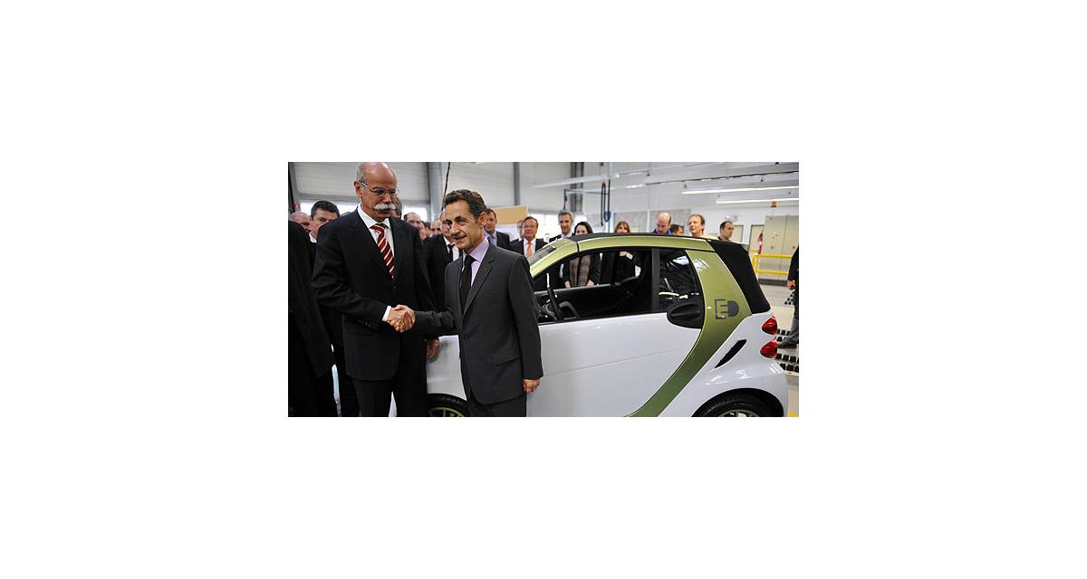 Nicolas Sarkozy veut réformer le permis de conduire