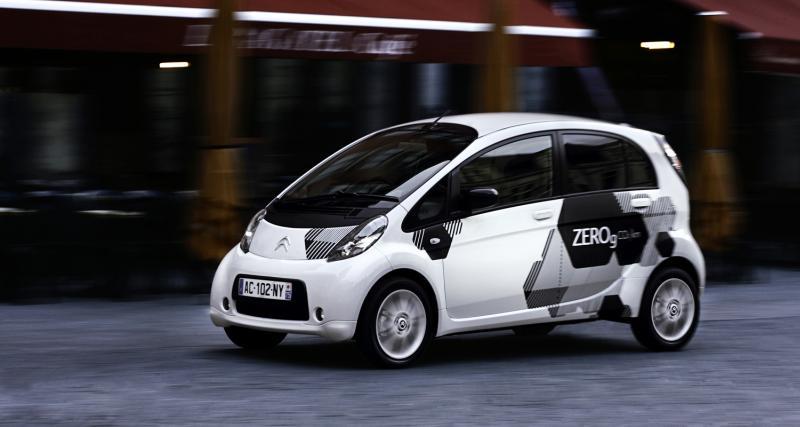 La Citroën C-Zéro à la location