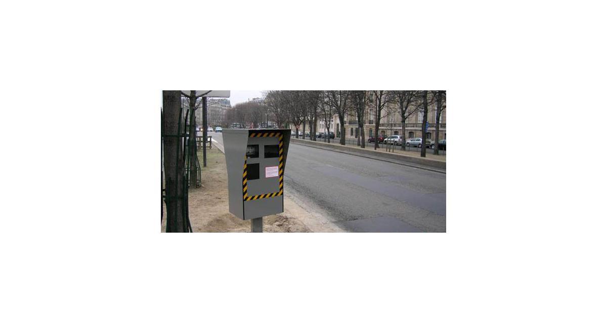Excès de vitesse : on roule moins vite à Paris