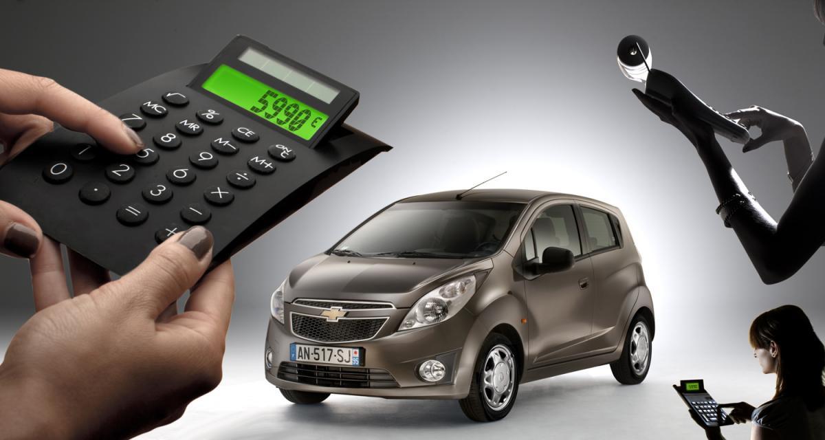 Chevrolet : la Spark à 5 990 €