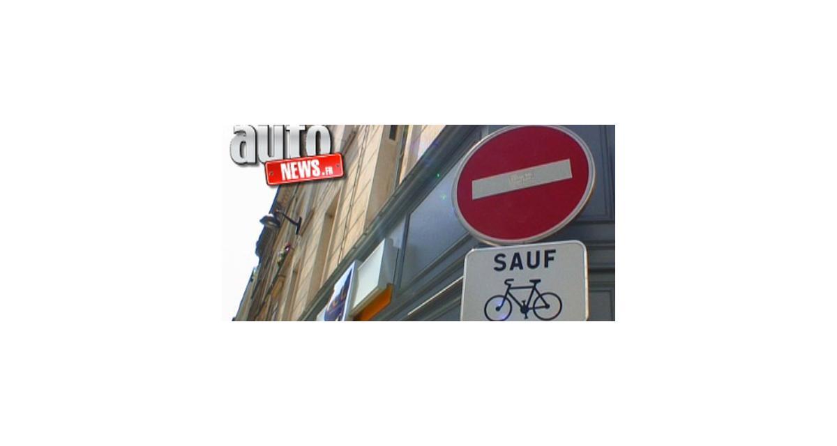 Reportage vidéo : les vélos à contresens dans Paris