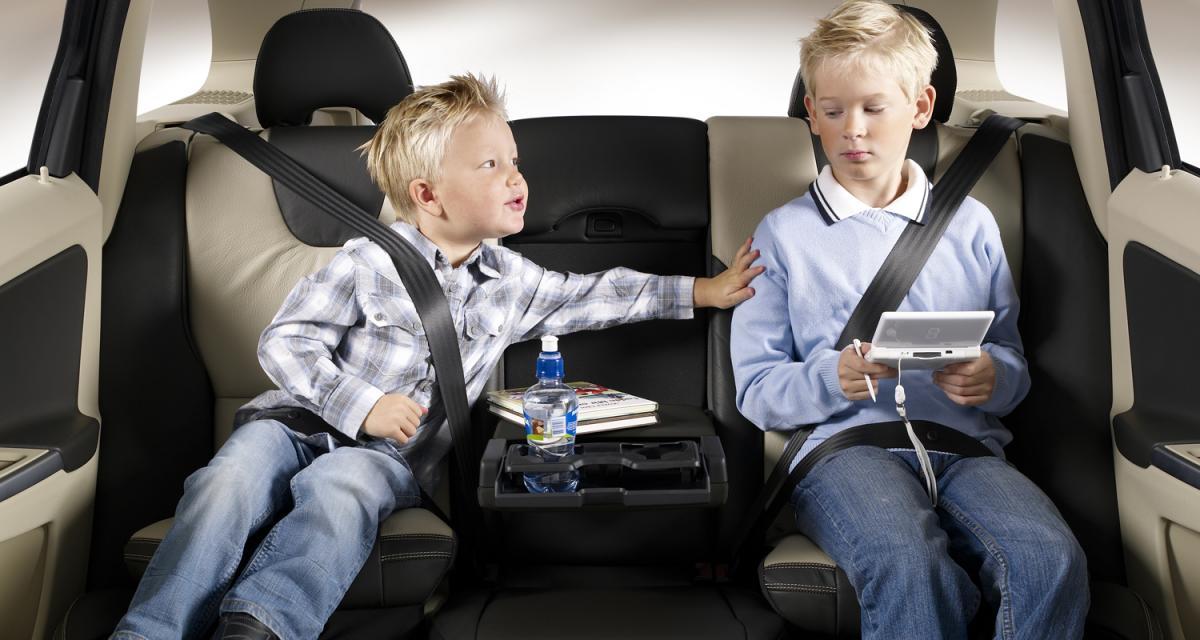 Sécurité enfant : la ceinture, c'est leur vie