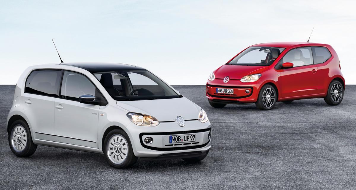 La Volkswagen up! élue voiture mondiale de l'année