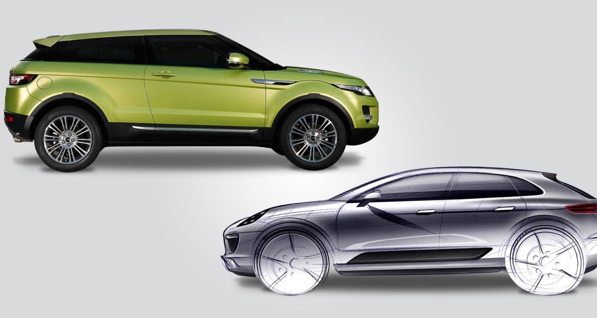 Porsche Macan contre Range Rover Evoque : baroudeurs des beaux quartiers