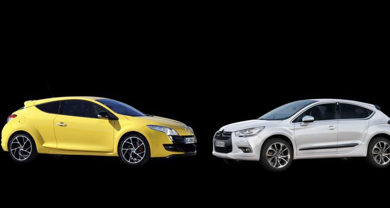 Citroën DS4 R contre Renault Megane RS : le sport à la française