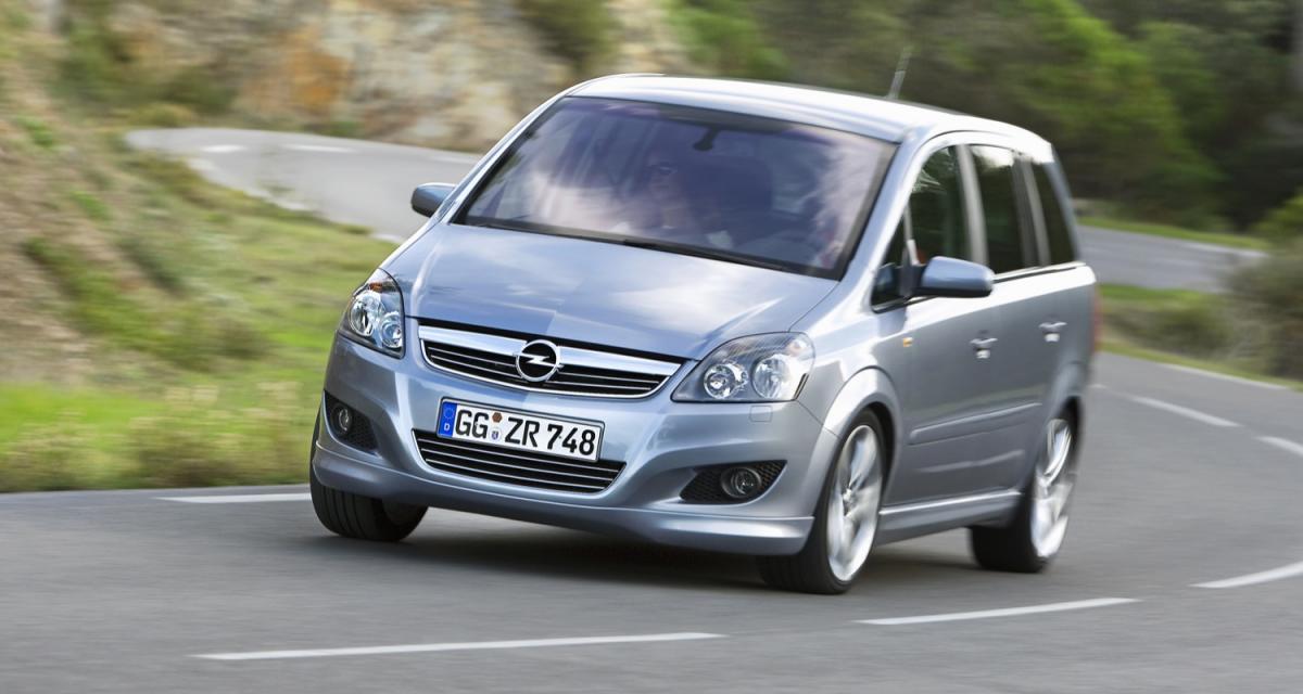 Opel : le Zafira fait de la résistance