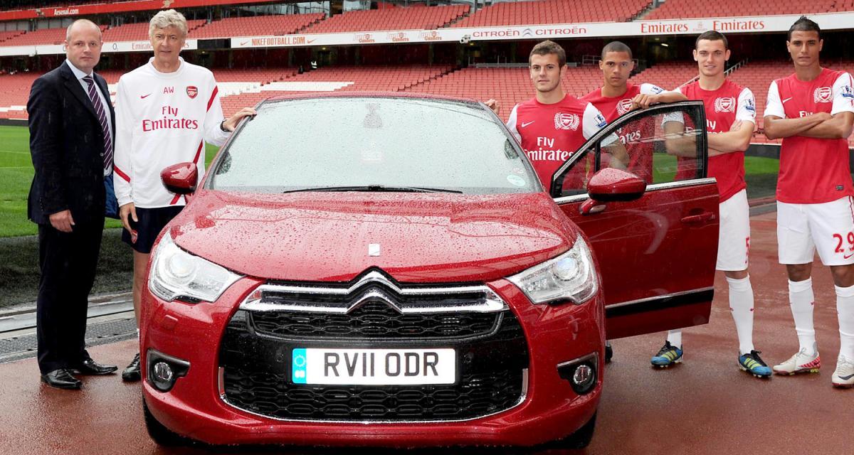 Partenariat : Citroën remise sur Arsenal
