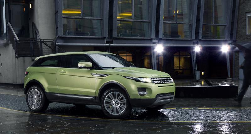 Range Rover Evoque : à partir de 32 900 €