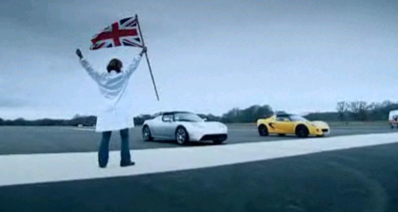 Tesla attaque Top Gear